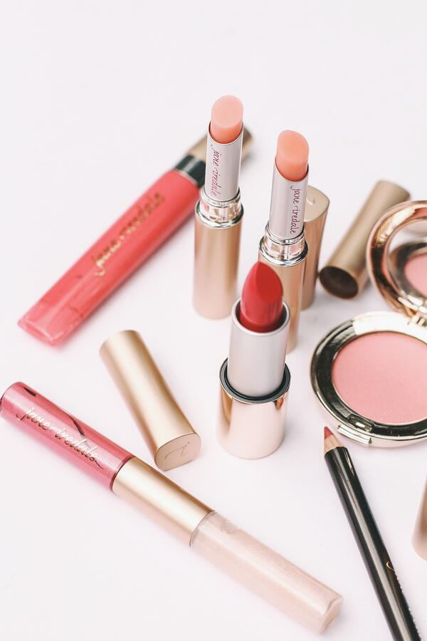 Pink jane iredale products