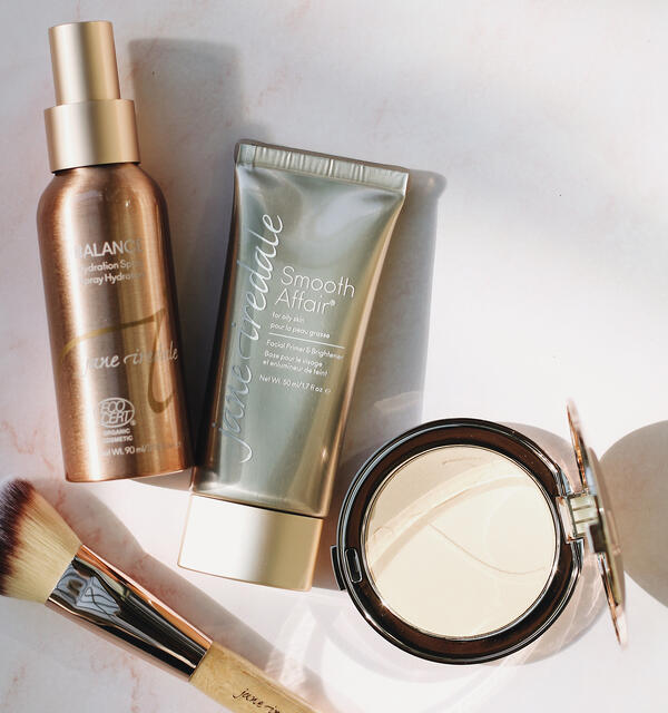 Makeup for acne-prone skin